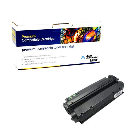 (AIM Compatible MICR Replacement for HP Laserjet 1300 Toner Cartridge (4000 Page Yield) (NO. 13X) (Q2613X) - Generic)
