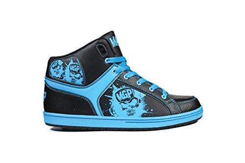 Madd Gear - Zapatillas de skateboarding para mujer multicolor - negro y azul