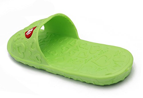 Insun Women's EVA Love Shower Floor Slide Slipper Green E8e7GuAt