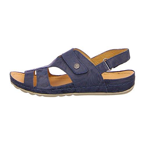 Dr. Brinkmann Dr. Brinkmann Damen Sandalette - Sandalias de vestir de Piel para mujer Azul azul Azul - azul