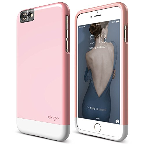 iPhone elago Glide Lovely White