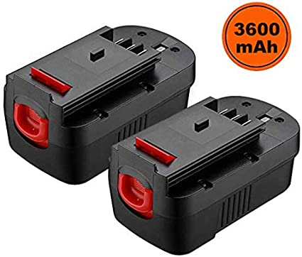Amazon Com Masione 3 6ah 18 Volt Batteries For Black And Decker 18v Battery Replacement Hpb18 244760 00 Hpb18 Ope Fs18bx Fs18fl Fsb18 2pack Home Audio Theater