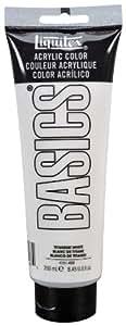 Liquitex BASICS Acrylic Paint 8.45-oz tube, Titanium White