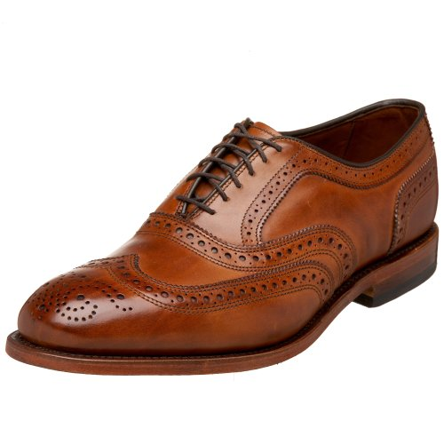 Allen Edmonds Men's McAllister Wing Tip,Walnut,12 D US