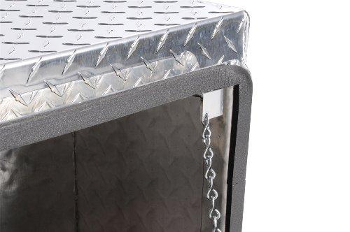 Tool Top Box Side - Dee Zee DZ70 Brite-Tread Aluminum Topsider Tool Box
