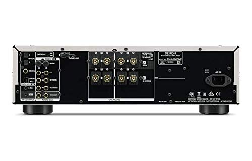 Denon PMA-1600NE Integrated Amp with DAC Mode for High Resolution Audio (Black)