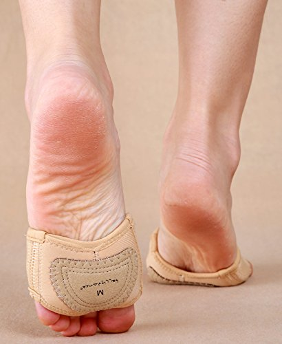 Zapatillas Tanga Descalzo Del Baile Bellyqueen Danza Almohadillas De Vientre Pie Antepié Ballet d8wvqw1