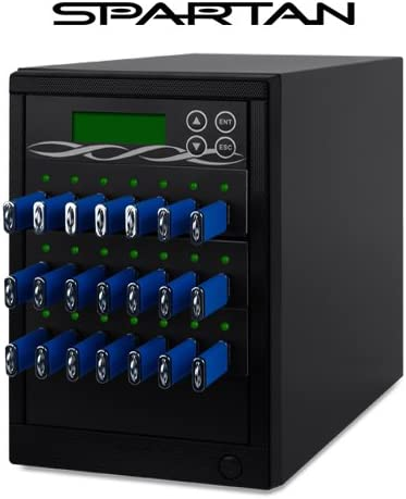 Spartan U20-SSP 1 to 20 Target USB Drive Duplicator
