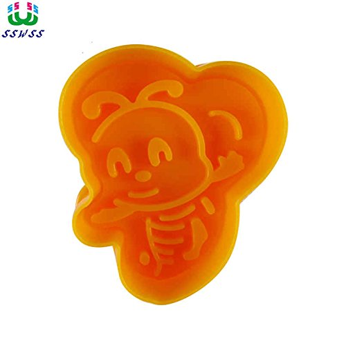 1 piece Busy Little Bees Pattern Printing MoldsFood Grade Plastic Cake Decorating Cutters ToolsDirect Selling