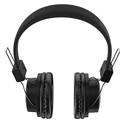 Bluetooth Headphones, Letscom Wireless Headphones Over Ear with Hi-Fi Sound Mic Deep Bass