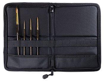 Jacksons Kolinsky Brush Set : 5 Kolinsky-Tajmyr Sable Brushes with Case