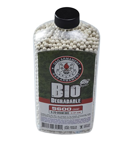 G&G Bio BB 0.2g (Bottle/5600 Pellets) (White)