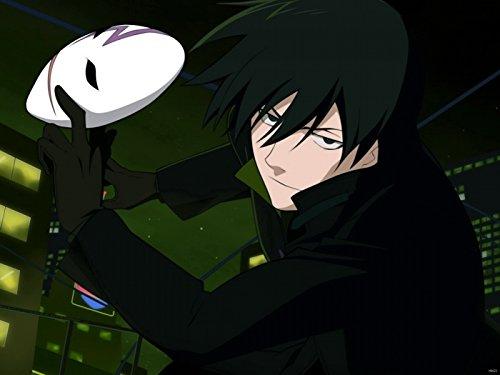 DV6422 Darker than Black Mask Anime Manga Art 32x24 Print POSTER