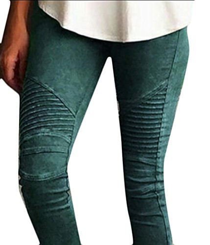 Ruched Ankle Leggings - 4