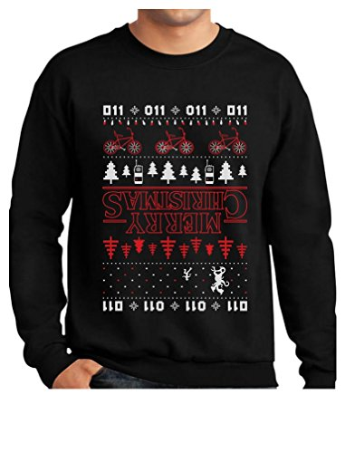 Stranger Things Christmas Sweater.Tstars Merry Christmas The Upside Down Ugly Christmas Sweatshirt