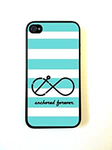 iphone covers Anchored Forever Mint Stripes Iphone 6 4.7 - For Iphone 6 4.7 4G - Designer TPU Case Verizon AT&T Sprint