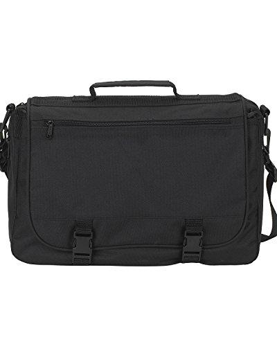 A Product of Gemline Executive Saddlebag -Bulk Saving Black