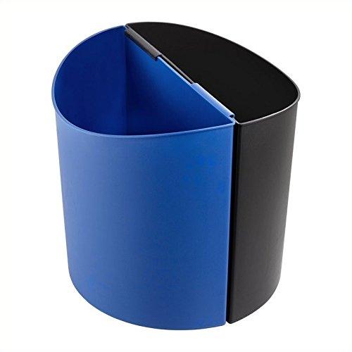 Deskside Recycling Receptacle - SAF9928BB - Safco Desk-Side Recycling Receptacle