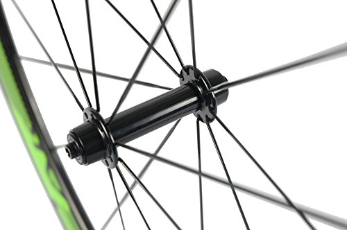 Sunrise Bike Carbon Fiber Road Wheelset Clincher Wheels 50mm Depth R13 Hub Decal Bicycle Rims by SunRise (Image #7)