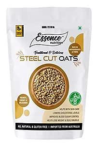 Amazon.com: Essence Organics Gluten Free Steel Cut Oats (1 ...