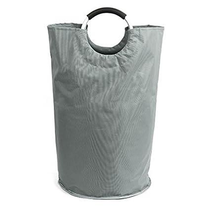 DealMux plegable de lavandería Cesto, Colegio de lavandería Bolsas, almacenamiento cesta de lavadero con