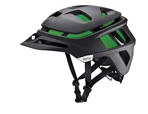 Smith Optics Forefront Adult Off-Road Cycling Helmet - Matte Black,Small (51-55 cm)