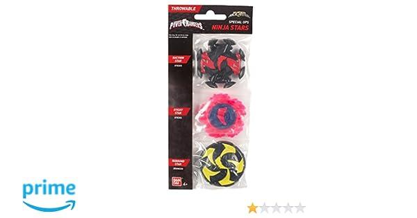 Power Rangers Super Ninja Steel Special Ops Ninja Stars, Pack F