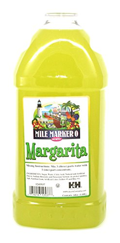 Margarita Mix - Mile Marker 0 - Commercial Grade Drink Mixer 64 Oz