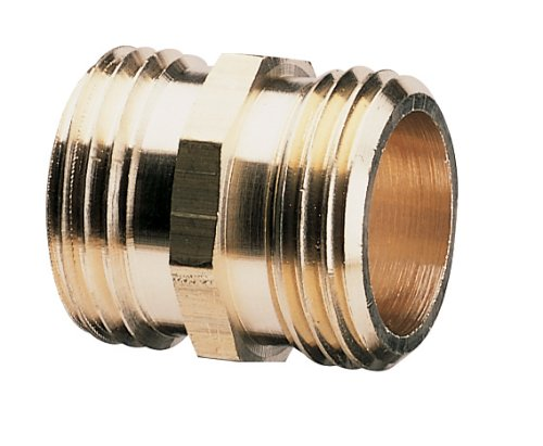 ndustrial Brass Pipe and Hose, Double Male ()