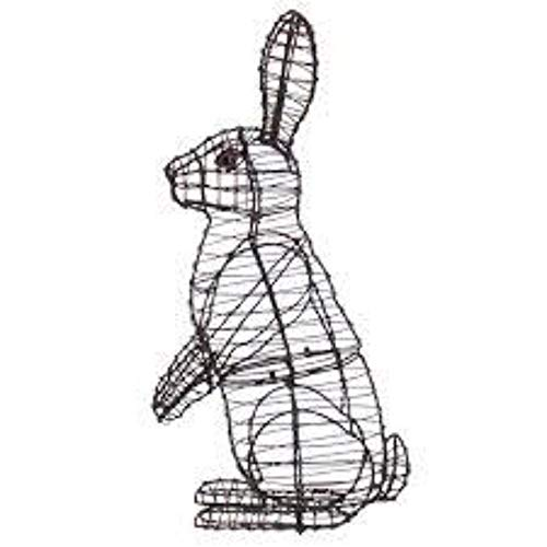 Sitting Upright Rabbit 13