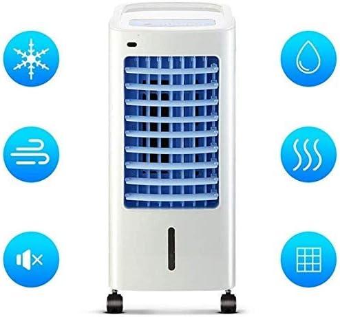 Tehwde Draagbare airconditioning voor het gezin, enkele ventilator, koud airconditioning, afstandsbediening houdt de lucht fris woonkamer, slaapkamer, werkkamer, kantoor, 80 W VPOoEHq4