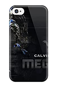 High Grade Paula S Roper Flexible Tpu Case For Iphone 4/4s - Calvin Johnson