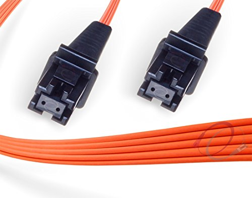 OM1 MTRJ MTRJ Duplex Fiber Patch Cable 62.5/125 Multimode - 5 Meter (Duplex Multimode Pvc 1 Meter)