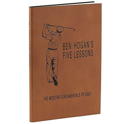 Ben Hogan's The Modern Fundamentals of Golf special edition in rich Full-Grain Leather by Graphic ImageTM - Leather Graphic