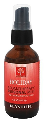 Plantlife Aromatheraphy Personal Mist 2 oz - Holiday by