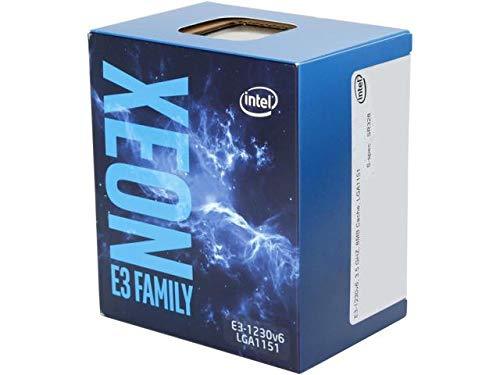 Procesador Intel Xeon E3-1230 V6 3.5 GHz Socket 1151 Boxed