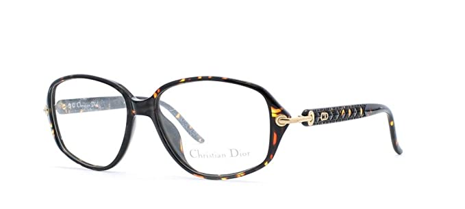65bf35cf0bc960 Christian Dior - Monture de lunettes - Femme Or Gold Red  Amazon.fr ...