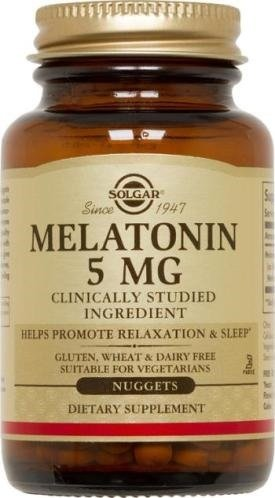 Solgar 033984019379 Melatonin 120 Nuggets product image