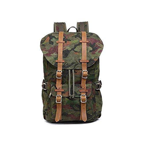 Bolso al aire libre Neutro bolsa mochila bolsa de viaje plegable , khaki camo