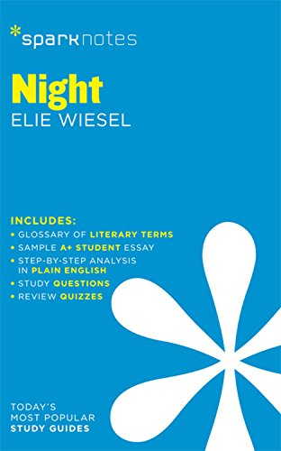 Amazoncom Night Sparknotes Literature Guide Sparknotes Literature  Night Sparknotes Literature Guide Sparknotes Literature Guide Series By  Sparknotes