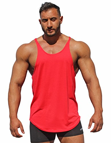 740a97b19c581 Physique Bodyware Men s Blank Y Back Stringer Tank Top. Made In America