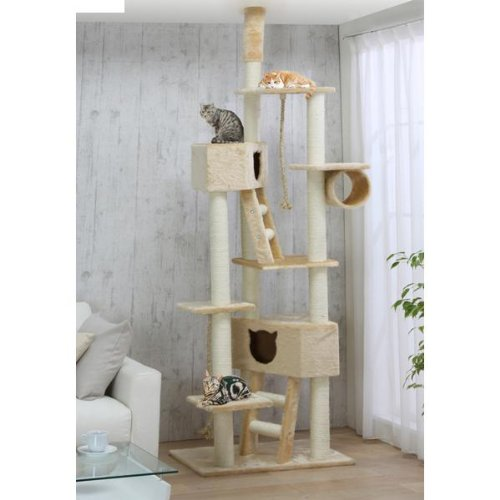 Floor to Ceiling Cat Tower, QQ80037, Cat Tree, Cat Condo, My Pet Supplies
