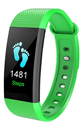 Smart Watch Activity Tracker IP68 Waterproof Pedometer Heart Rate Monitor Calorie Step Counter Band Bracelets for Kids Men Women