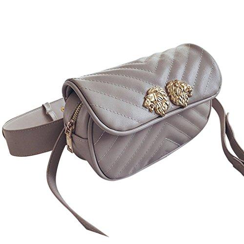 Coafit Fashion Shoulder Bag Lady Waist Bag Adjustable Strap Dual Use Crossbody Bag by Coafit