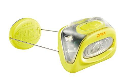 Petzl - ZIPKA Headlamp 80 Lumens, Yellow