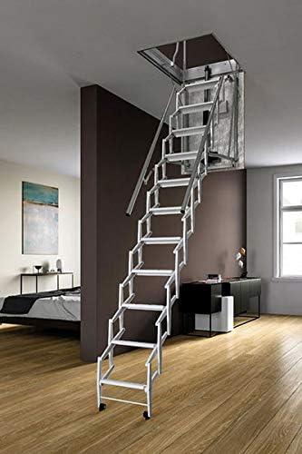 Escalera retráctil eléctrica – Altura techo máxima 3.00 m: Amazon.es: Bricolaje y herramientas