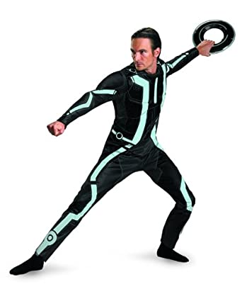 Amazon.com: Disguise Men\'s Disney Tron Legacy Movie Deluxe Costume ...