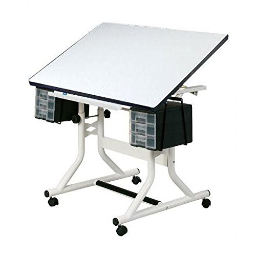 Alvin Craftmaster Hobby - Alvin CM40-4-XB Hobby Table Drawing White (CM40-4-XB)