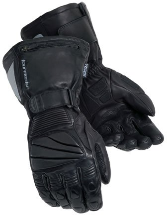 Tourmaster Mens Winter Elite II Motorcycle Gloves Black Small S