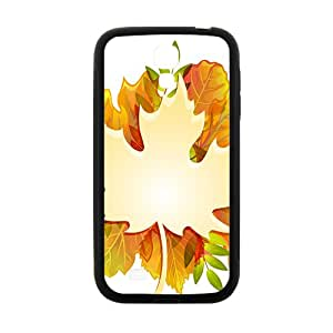 Maple leaf and Autumn Hight Quality Plastic Case for Samsung Galaxy S4